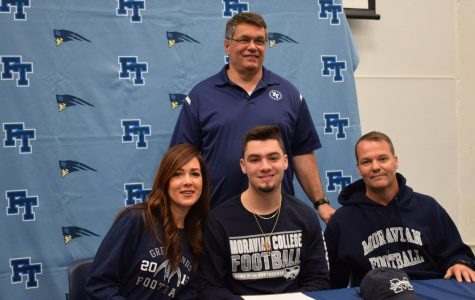 Nick Reardon, Football at Moravian