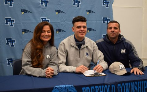 Johnny Manfre, Football at Monmouth