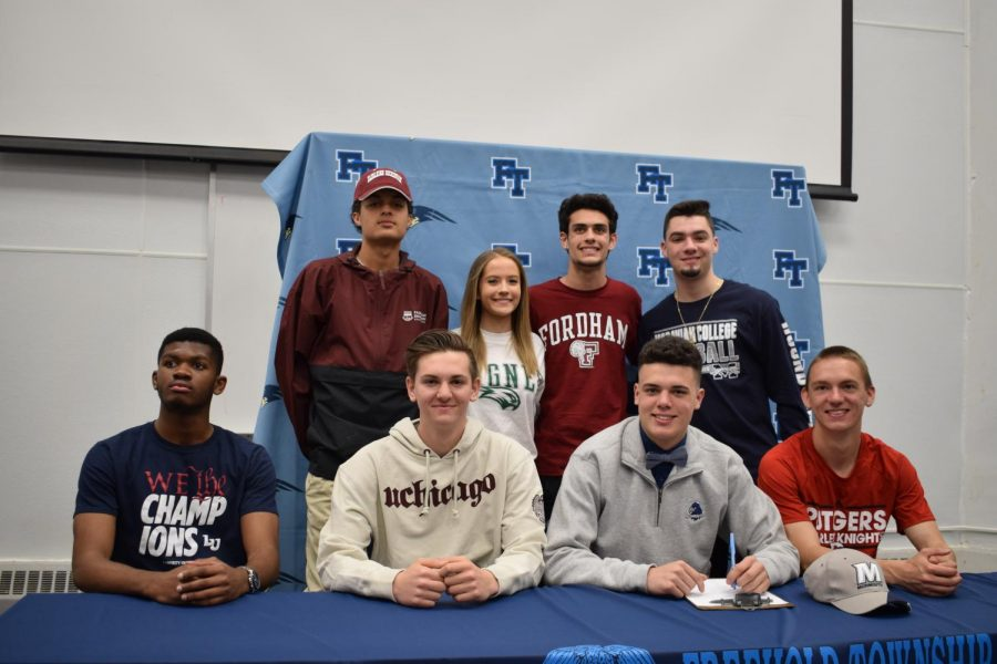 Eight+More+FTHS+Athletes+Sign+to+Play+in+College
