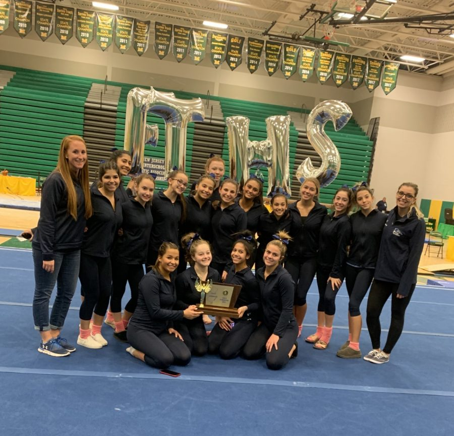 Gymnastics Team Continues State Dominance With 3rd Straight Title