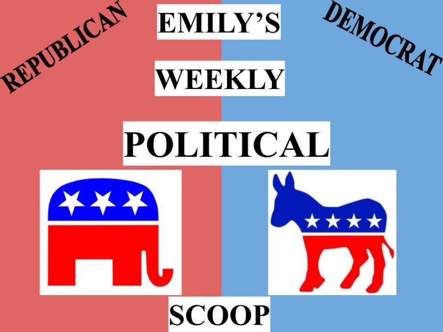 Emily's Weekly Political Scoop: The Airstrike in Syria, Biden Discussing Border Issues with Mexican Border, and Asian American Hate Crimes Increasing