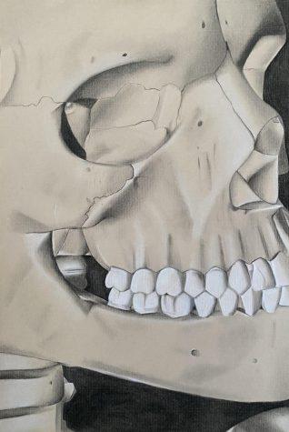 """Charcoal Skeleton"""