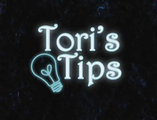 Toris Tips: 10/16